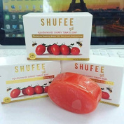 TOMATO SOAP QUEEN SHUFEE CHERRY TOMATO SOAP BRIGHTENING WHITENING AURA SKIN ANTI ACNE DARK SPOT 70G.