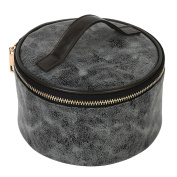 Mootime Women Cosmetic Makeup Travel Toiletry Storage Bag Pouch Organiser Case Black