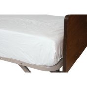 """Protective Mattress Cover Contour Plastic 80Lx36""""W Package Of 12"""