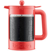 Bean Set Ice Coffee Maker, 1.5L, 1510ml, Coral