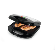 Salton Stainless Steel 3-in-1 Grill, Sandwich and Waffle Maker