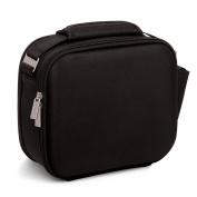 Tatay Urban Shell Airtight Lunch Bag and Kit, Polyester, black, 28 x 13.5 x 23.5 cm