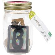 DIY Shop Mason Jars W/Embellishments-Office Supplies 29/Pkg