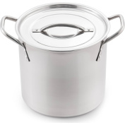 McSunley 5.7l Stainless Steel Basic Stockpot