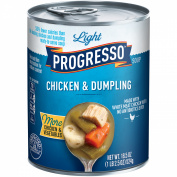Progresso Light Chicken & Dumpling Soup, 550ml
