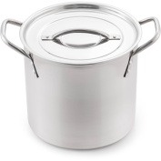 McSunley 7.6l Stainless Steel Basic Stockpot