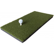 Retail Turf Solutions Residential Golf/ Driving/ Chipping Practise Mat with Heavy 1.6cm Rubber Backing 0.9m x 1.5m Mat