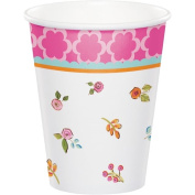 Party Creations Tea Time Hot/Cold Cups, 270ml, 8 Ct