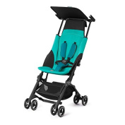 GB Gold Pockit+ Pushchair, Capri Blue