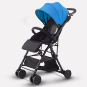 tricycle & stroller Baby Trolley Ultra-light Can Sit Down Shock Absorber Fold Umbrella Car Baby Scooter Child Trolley High View Baby Carriages