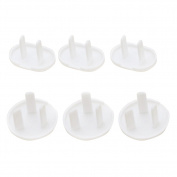 6x Wicemoon Outlet Protective Cover Cap Infant Security Lock Child Safety Socket Power Protection Against Electric Shock