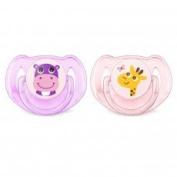 Philips AVENT bpa free Classic soothers 6-18m