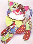 BUCILLA CALICO CAT HUG ME TOY Cloth & Embroidery KIT 51712