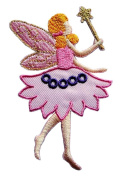 Cute Pretty Fairy Angel Embroidered patch Ideal for adorning your jeans, hats, bags, jackets and shirts.