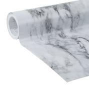 Duck Brand Deco Adhesive Laminate Shelf Liner, Grey Marble, 50cm x 3.7m