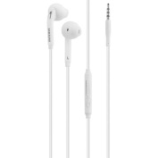 Refurbished for Samsung OEM S6 S6 Edge S7 S7 Edge Note 4 Stereo Earbuds Wired Headset - White