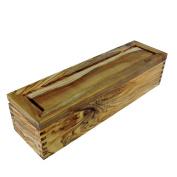 Enrico Olive Wood Salt Box