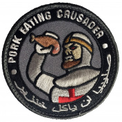 Mil-Spec Monkey Pork Eating Crusader Patch - SWAT