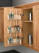 Cabinet Door Spice Racks, Wood Adjustable Spice Racks, Adjustable Spice Rack, 25cm - 0.3cm Width, 10cm Depth, 60cm Height