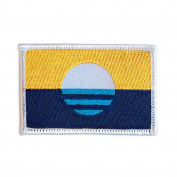 People's Flag of Milwaukee Embroidered Iron-On / Sew-On City Flag Patch