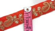 Lace Trim, bridal Trim, Indian Trim, Bridal Wear Embellishment, Indian Ribbon,headpieces supplies-Price for 01 yard-IDL521