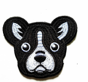 HHO Cute dog cartoon kids Patch Embroidered DIY Patches, Cute Applique Sew Iron on Kids Craft Patch for Bags Jackets Jeans Clothes