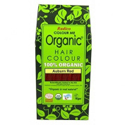 RADICO - 100% Natural Hair Colour - Auburn Red - Covers Grey Hair - Protects and Nourishes - Certified by Ecocert - 100 g