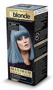 THREE PACKS of Jerome Russell Bblonde Maximum Colour Toner Denim 75ml