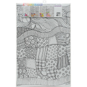 Joy Of Colouring Adult Colouring Posters 28cm x 43cm 4/Pkg-Contemporary
