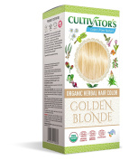 Cultivator's Organic Herbal Hair Colour - Golden Blonde 100g