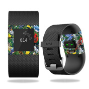 Skin Decal Wrap for Fitbit Surge Backyard Gathering