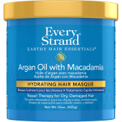 Every Strand Argan Oil with Macadamia Hydrating Hair Masque, 440ml