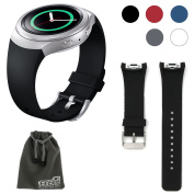 EEEKit for Samsung Gear S2 (SM-r720 Version ONLY) Smart Watch, Silicone Watch Band Bracelet Strap
