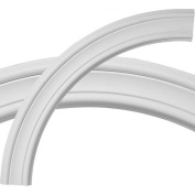 Ekena Millwork CR35PI 36. 130cm OD x 30. 60cm ID x 3. 30cm W x . 190cm P Architectural Accents - Pierced Ceiling Ring