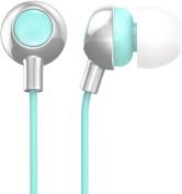 Ankit Silver/Mint Berry Bud Earbud Headphones
