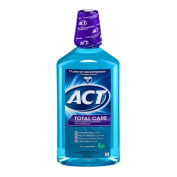 Act Total Care Icy Clean Mint Anticavity Fluoride Mouthwash - 1000ml