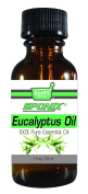 Sponix Eucalyptus Oil - High Quality Therapeutic Grade Oil - 100% Pure and Natural - 30ml