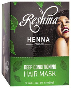 Reshma Beauty Henna Deep Conditioner Mask, 12 Count