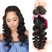 Unprocessed Brazilian Loose Wave Bundles 8 8 20cm Cheap Human Hair Extension Loose Hair Weft 100g/pcs 3 Bundles Human Hair Weave Shedding Free