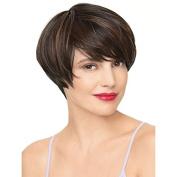 Colorwigy Pixie Cut Wig 28cm Synthetic Full Hair Fashion Short Wigs Heat Resistant Fibre-F1B/30#