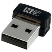 StarTech.com USB150WN1X1 - USB 150Mbps Mini Wireless N Network Adapter - 802.11n/g 1T1R