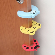 Baby Safe Door Stop Finger Jammers Pinch Guards 5pcs Pakc