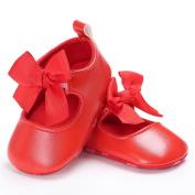 SMYTShop Infant Baby Girls Soft Soled Prewalker Crib Shoes Princess Light Shoes