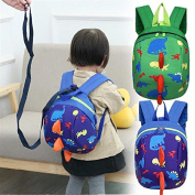 Baby Backpack Walking Safety Harness Kid Keeper Link Traction Rope Dinosaur Toddler Anti-Lost Leash Strap Rein Cartoon Bag