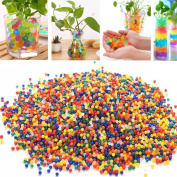 UOOOM 12 Packs Multi-colours Jelly Balls Crystal Water Growing Beads for Vase Filler Wedding & Party Decoration