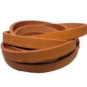 Thin Leather Straps By TOFL Crafts Leather Strips You Can Use. 0.4cm Thick, 1.3cm Wide and 180cm long