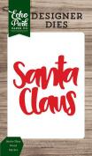Echo Park Paper Company Santa Claus Word Die Set