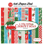 Carta Bella Paper Company a Very Merry Christmas 6x6 Paper Pad
