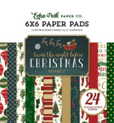 Echo Park Paper Company Twas the Night Before Christmas 6x6 Paper Pad Vol. 2 2