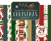 Echo Park Paper Company Twas the Night Before Christmas 6x6 Paper Pad Vol. 1 1